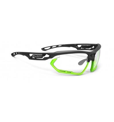 Rudy Project Fotonyk fotokroomsed prillid - matte black/lime (ImpactX 2 Black)