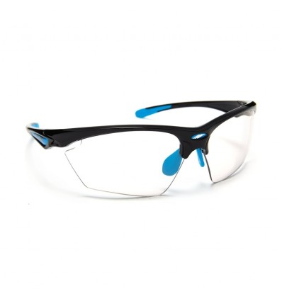 Rudy Project Stratofly prillid - black gloss/light blue (Photoclear)