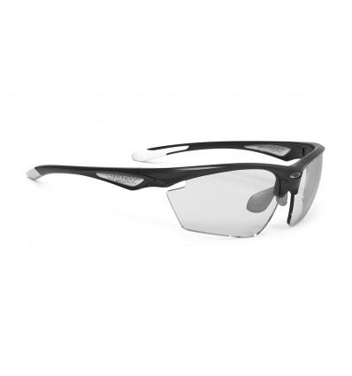 Rudy Project Stratofly fotokroomsed prillid - black gloss/white (ImpactX 2 Black)