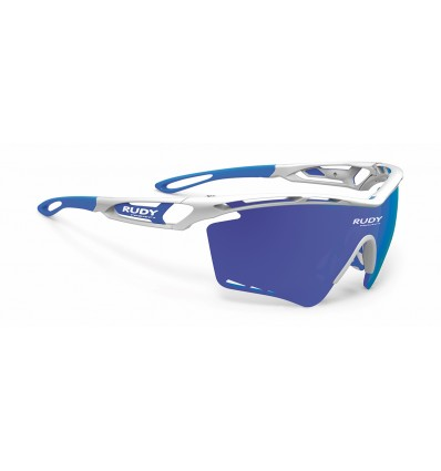 Rudy Project Tralyx XL prillid - white gloss (multilaser blue)