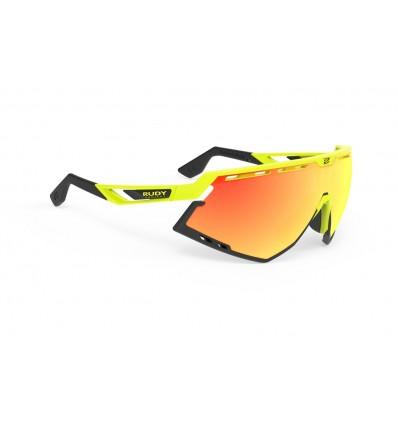 Rudy Project Defender prillid - yellow fluo/black (multilaser orange)