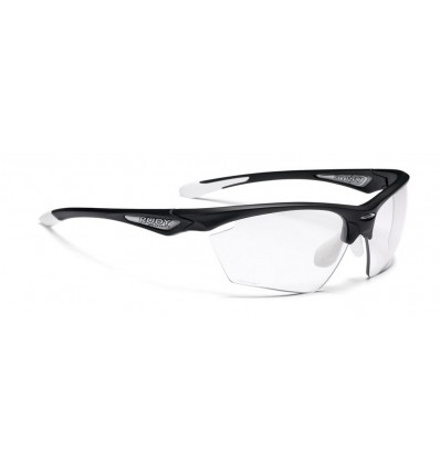 Rudy Project Stratofly prillid - black gloss/white (Photoclear)