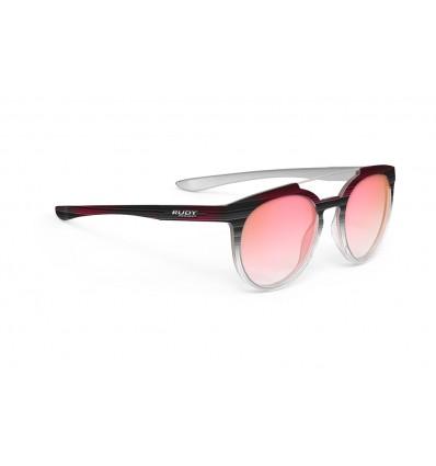 Rudy Project Astroloop päikseprillid - black coral (pink laser deg)