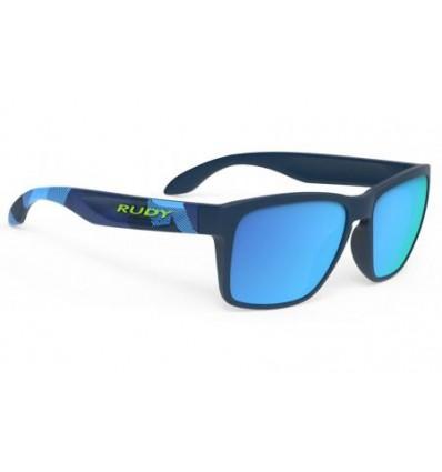 Rudy Project Spinhawk päikseprillid - neo camo blue (multilaser blue)