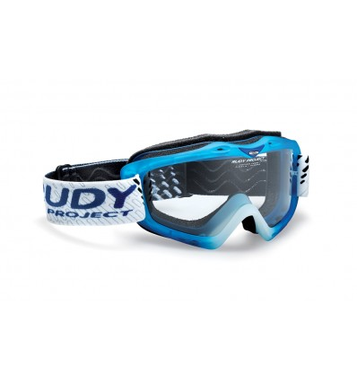 Rudy Project Klonyx MX motomask - frozen blue (transparent)