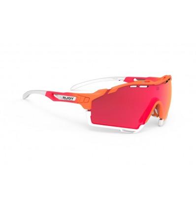Rudy Project Cutline prillid - mandarin fade (multilaser red)