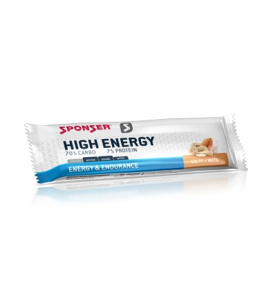 Sponser High Energy Bar soolane energiabatoon 45g