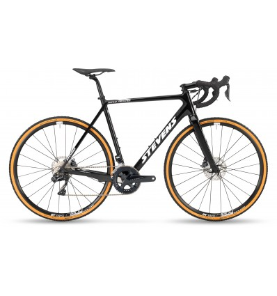 Stevens Super Prestige Di2 Disc cyclocrossiratas - galaxy black