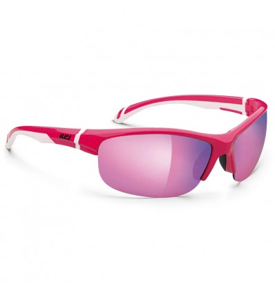Rudy Project Jewel prillid - shiny rubin/white (multilaser pink)
