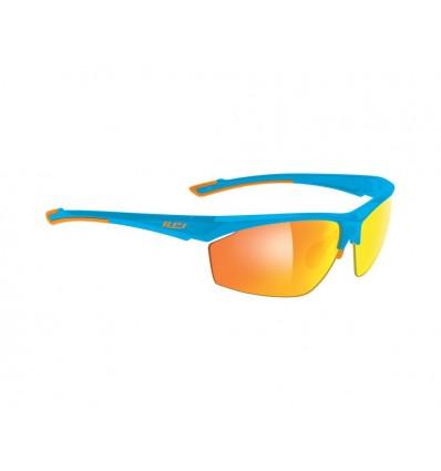 Rudy Project Janis prillid - shiny azur/orange (multilaser orange)