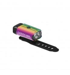 Lezyne Hecto Drive 500XL esituli - neoonmetallik
