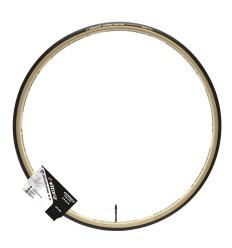 """Vittoria Corsa Control Graphene 2.0 tubularkumm, 25-28"""" - must/beež"""