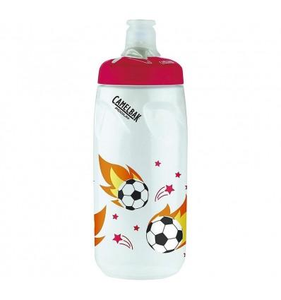 Camelbak Podium Kids 600ml - soccer flames