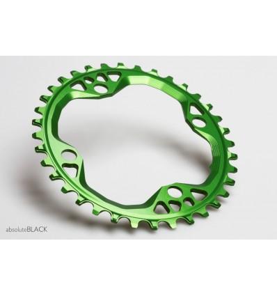 AbsoluteBlack Oval 104BCD hammasratas, roheline