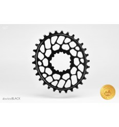 AbsoluteBlack Oval Sram BB30 hammasratas, must