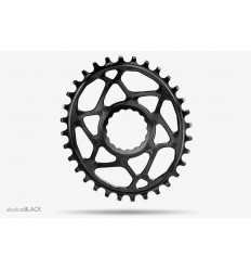 AbsoluteBlack Oval RaceFace Cinch hammasratas, must