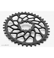 AbsoluteBlack CX1® Oval Sram N/W Traction hammasratas, must