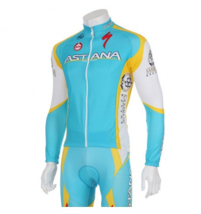 Astana Pro Team l/s rattasärk (L)