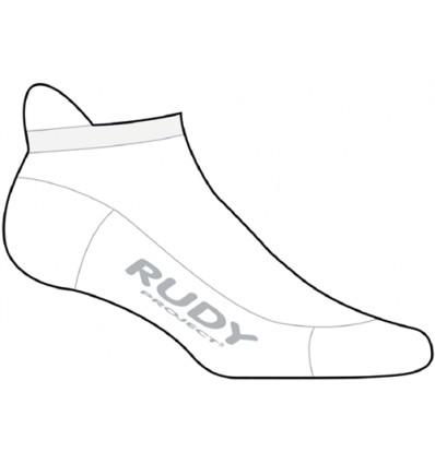 Rudy Project Invisible Meraklon sokid - valge
