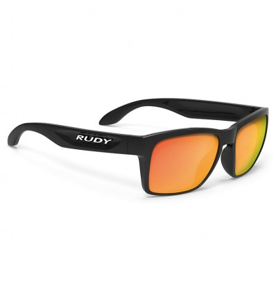 Rudy Project Spinhawk Slim - black gloss (multilaser orange)