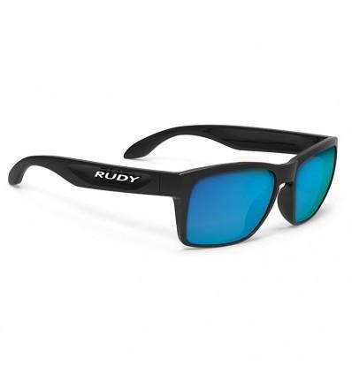 Rudy Project Spinhawk Slim - black gloss (multilaser blue)