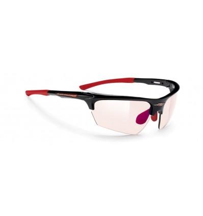 Rudy Project Noyz fotokroomsed prillid - black gloss (ImpactX 2 LS Red)