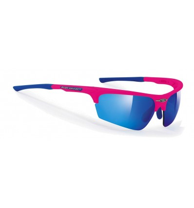 Rudy Project Noyz prillid - pink fluo (multilaser blue)