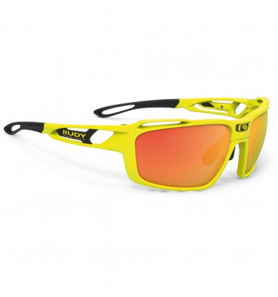 Rudy Project Sintryx - yellow fluo (Polar 3FX HDR MTL Orange)