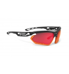 Rudy Project Fotonyk - crystal graphite (multilaser red)